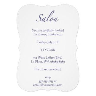 Salon Custom Invite
