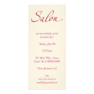 Salon Custom Invitations