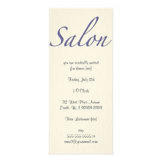 Salon Custom Announcement