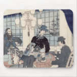 Salon of a house of foreign merchants at mouse pad