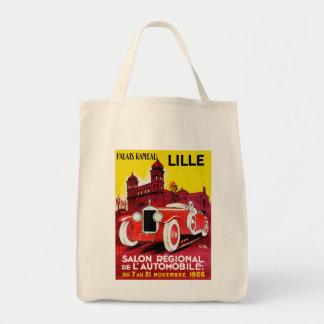 Salon Regional De L'Automobile ~ Lille Grocery Tote Bag