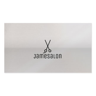 Salon Scissors Pack Of Standard Business Cards