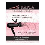 Salon & Spa Hair Care Hairstylist Flyers