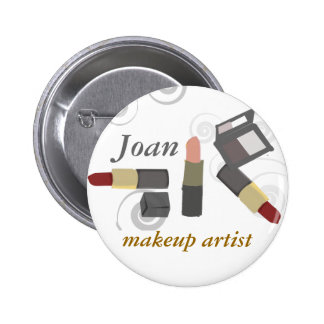 Salon Spa Makeup Artist Cosmetic 6 Cm Round Badge