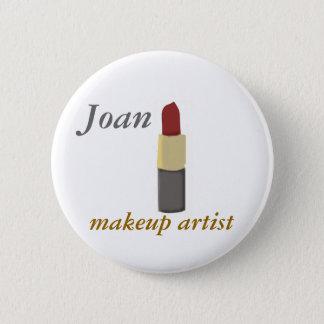 Salons Makeup Artist 6 Cm Round Badge