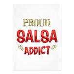 Salsa Addict Invitation