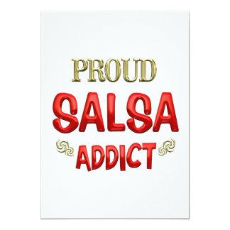 Salsa Addict Custom Invite