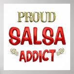 Salsa Addict Posters