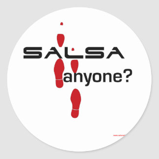 Salsa Anyone? Stickers