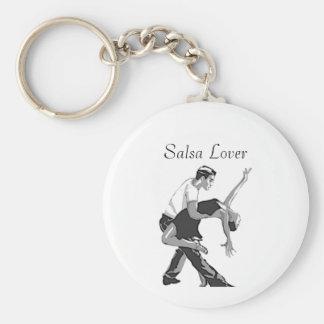 Salsa Basic Round Button Key Ring
