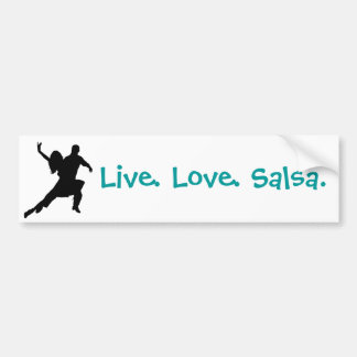 Salsa Bumper Sticker Car Bumper Sticker