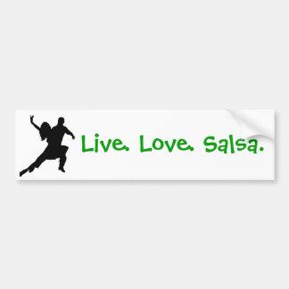 Salsa Bumper Sticker