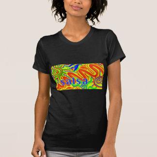 Salsa dance fun tee shirts