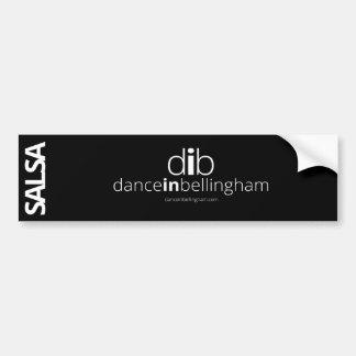 Salsa Dance in Bellingham Bumper Sticker