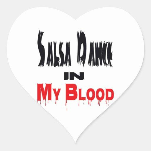 Salsa Dance In My Blood Sticker