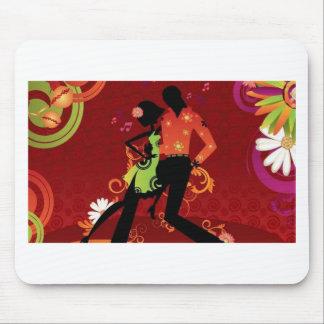 Salsa dance mouse pad