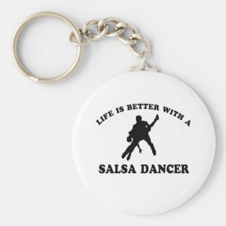 Salsa Dancer Designs Key Ring