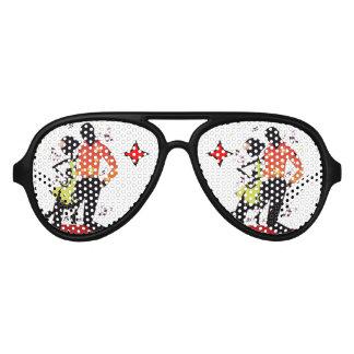 Salsa dancing Party Shades Sunglasses