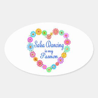 Salsa Dancing Passion Sticker