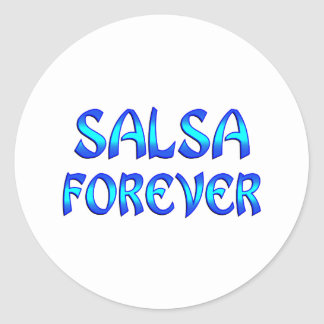 Salsa Forever Stickers