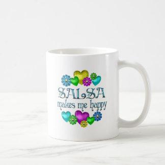 Salsa Happiness Coffee Mug