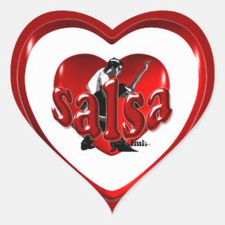 Salsa IMH� s1 Heart Sticker
