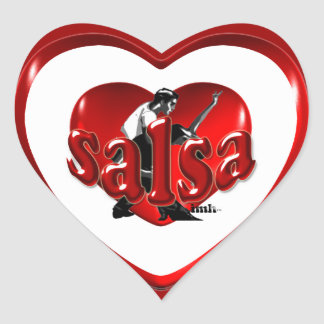 Salsa IMH� s1 Heart Sticker