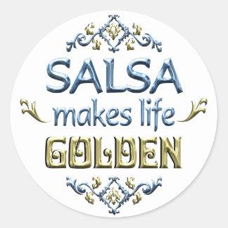 SALSA is Golden Stickers