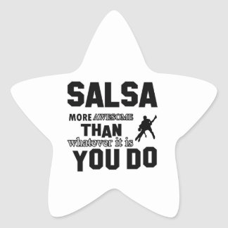 salsa  more awesome star stickers