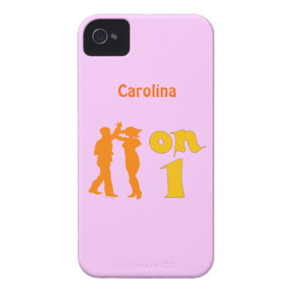 Salsa On One Dancing Silhouettes Blackberry Case