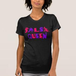 SALSA QUEEN T-shirt - For salsa dance lovers