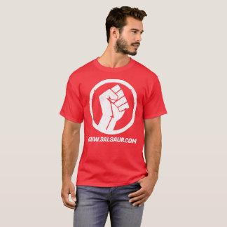 Salsa Underground T-Shirt Men Red Big Logo