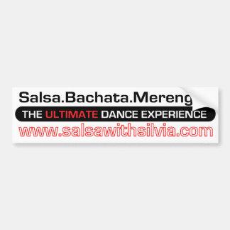 Salsa With Silvia Bumper Sticker