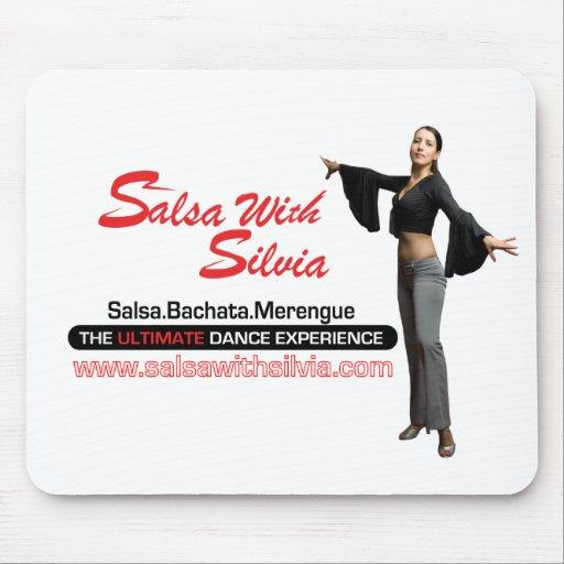 Salsa With Silvia Mouse Pad