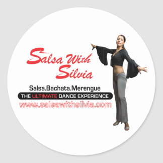 Salsa With Silvia Sticker