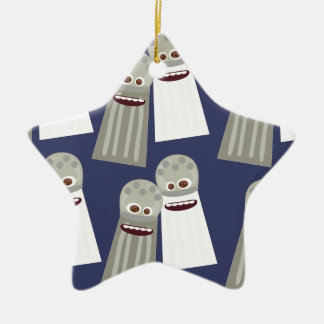 Salt and Pepper Cute Pattern Christmas Ornament