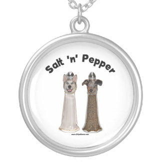Salt and Pepper Shakers Dogs Custom Jewelry
