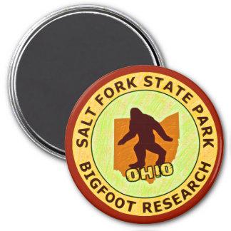 Salt Fork State Park Bigfoot Research 7.5 Cm Round Magnet