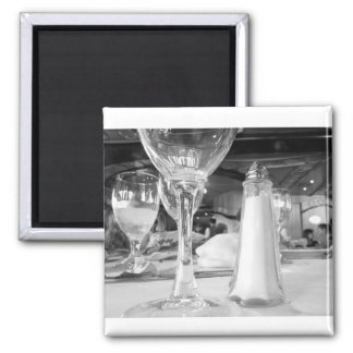 Salt & Glass Square Magnet