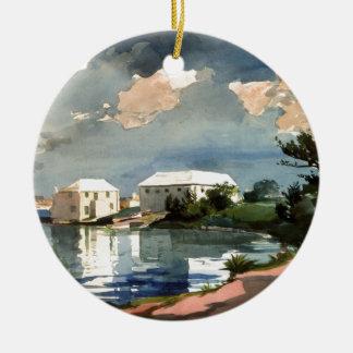Salt Kettle, Bermuda Christmas Ornament