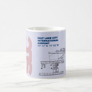 Salt Lake City Airport (SLC) Diagram Mug
