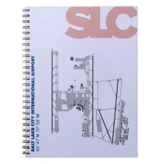 Salt Lake City Airport (SLC) Diagram Notebook