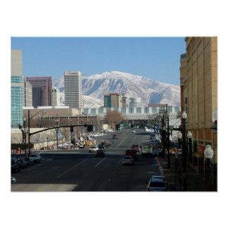 Salt Lake City and the Wasatch Front Poster