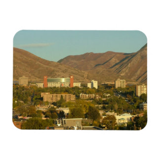 Salt Lake City and the Wasatch Front Rectangular Photo Magnet