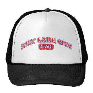 Salt Lake City Athletic Mesh Hats