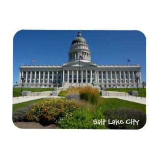 Salt Lake City Capitol Building (Utah) Rectangular Photo Magnet
