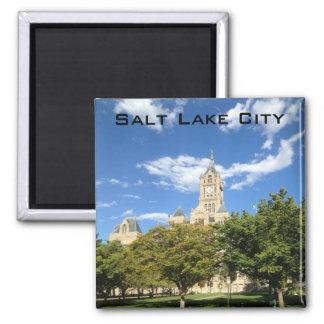 Salt Lake City - City Hall Square Magnet