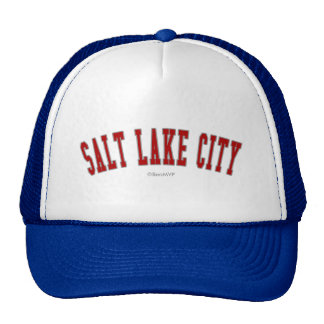 Salt Lake City Hats