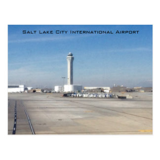 Salt Lake City International Airport Postcard
