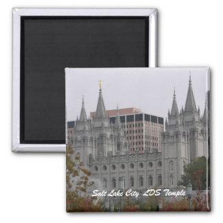 Salt Lake City  LDS Temple Fridge Magnet